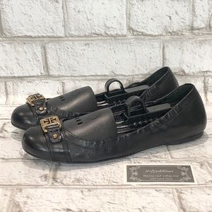 Tory Burch Clines Black Ballet Flats